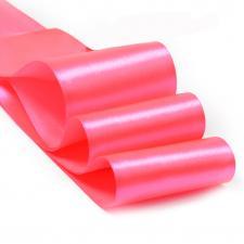 Лента атласная,75 мм,IDEAL,цвет 3080 яр.розовый