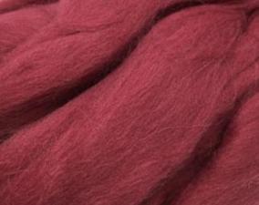 Шерсть для валяния,цвет брусника (088).