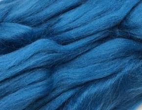 Шерсть для валяния,цвет морская волна (139).