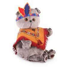 Басик в костюме индейца, мягкая игрушка BudiBasa