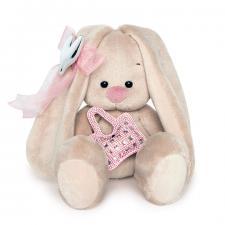 Зайка Ми с сумочкой и сердечком (Малыш). Размер - 15 см.