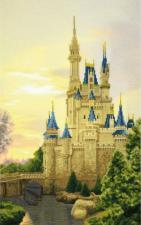 Чаривна Мить | Дворец для принцессы. Размер - 24 х 39 см.