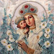 Butterfly   Мария и Христос (по картине А.Охапкина). Размер - 27 х 27 см.