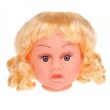 Парик с локонами,размер средний,цвет:блонд,диаметр 9-10 см