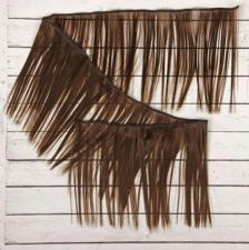 Волосы-тресс для кукол прямые,длина волоса 15 см,длина тресса 100 см,цв.9
