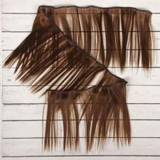 Волосы-тресс для кукол прямые,длина волоса 15 см,длина тресса 100 см,цв.8В