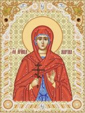 Святая Великомученица Марина. Размер - 18 х 24 см.