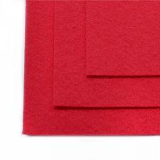 Фетр листовой жёсткий IDEAL,20 х 30 см,1 мм,цвет 610 тёмно-розовый