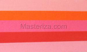 Бумага для кручения (красный ассорти). Размер - 3 мм.