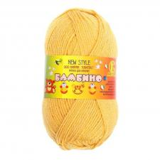 Пряжа Бамбино. Цвет 033 (горчица).