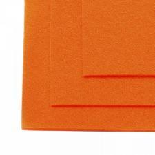 Фетр листовой жёсткий IDEAL,20 х 30 см,1 мм,цвет 645 бледно-оранжевый