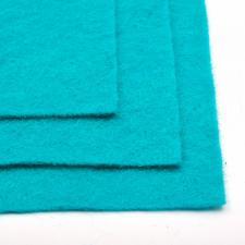 Фетр листовой жёсткий IDEAL,20 х 30 см,1 мм,цвет 651 бирюзовый