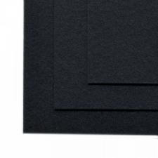 Фетр листовой жёсткий IDEAL,20 х 30 см,1 мм,цвет 655 чёрный