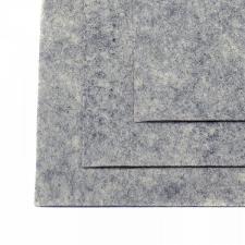 Фетр листовой жёсткий IDEAL,20 х 30 см,1 мм,цвет 657 мрамор