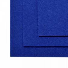 Фетр листовой жёсткий IDEAL,20 х 30 см,1 мм,цвет 679 синий