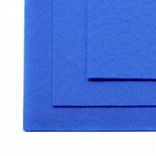 Фетр листовой жёсткий IDEAL,20 х 30 см,1 мм,цвет 683 голубой