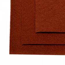 Фетр листовой жёсткий IDEAL,20 х 30 см,1 мм,цвет 692 светло-коричневый