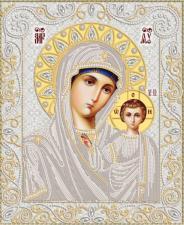 Венчальная пара.Богородица Казанская. Размер - 26 х 32 см.