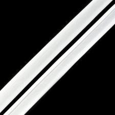 Косая бейка TBY атласная шир.15мм цв.F101 белый