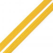 Косая бейка TBY атласная шир.15мм цв.F111 жёлтый