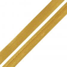 Косая бейка TBY атласная шир.15мм цв.F116 светло-коричневый