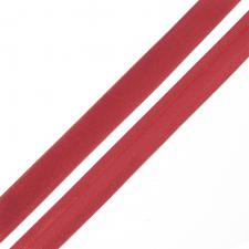 Косая бейка TBY атласная шир.15мм цв.F148 тёмно-красный