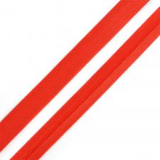 Косая бейка TBY атласная шир.15мм цв.F162 красный