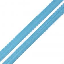 Косая бейка TBY атласная шир.15мм цв.F206 синий