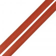 Косая бейка TBY атласная шир.15мм цв.F286 красно-коричневый
