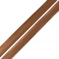 Косая бейка TBY атласная шир.15мм цв.F299 коричневый