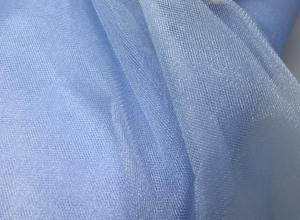 Фатин Кристалл средней жёсткости,1 п/м,цв.нежно-голубой