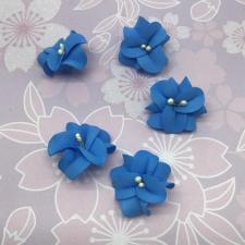 Цветы из фоамирана,4 см,5 шт,арт.УВ-1,синий