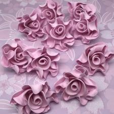 Цветы из фоамирана,5 см,10 шт,арт.КО-1,розовый