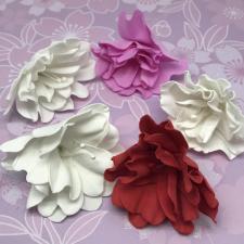 Цветы из фоамирана,7 см,5 шт,арт.ОП-1/1,ассорти
