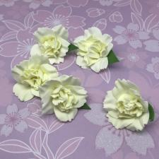 Цветы из фоамирана,4 см,5 шт,арт.ПН-2,айвори