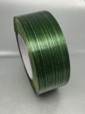 Лента Аспидистра (тёмно-зелёный с тиснением),ширина 4 см,длина 50 ярд (45,72 м)