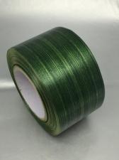 Лента Аспидистра (тёмно-зелёный с тиснением),ширина 6 см,длина 50 ярд (45,72 м)