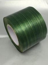 Лента Аспидистра (тёмно-зелёный с тиснением),ширина 8 см,длина 50 ярд (45,72 м)