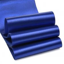 Лента атласная,100 мм,IDEAL,цвет 3162 синий