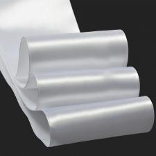 Лента атласная,100 мм,IDEAL,цвет 3001 белый