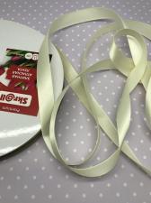 Лента атласная Элитная Premium Skroll,15 мм,цвет№ 028 (молочный)