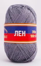 Пряжа Лён. Цвет 169 (серый)