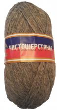Пряжа Чистошерстяная. Цвет 168 (св.серый)
