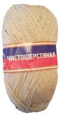 Пряжа Чистошерстяная. Цвет 205 (белый)