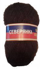 Пряжа Северянка. Цвет 063 (шоколад)