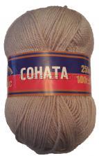 Пряжа Соната. Цвет 168 (св.серый)
