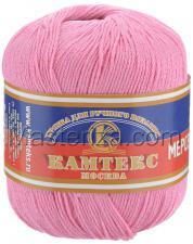 Пряжа Хлопок мерсеризованный. Цвет 054 (розовый супер)