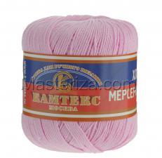 Пряжа Хлопок мерсеризованный. Цвет 055 (св.розовый)