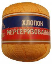 Пряжа Хлопок мерсеризованный. Цвет 036 (абрикос)