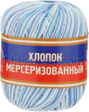 Пряжа Хлопок мерсеризованный. Цвет 241 (разный)